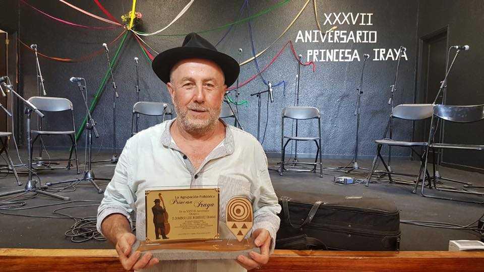 Domingo El Colorao, premiado