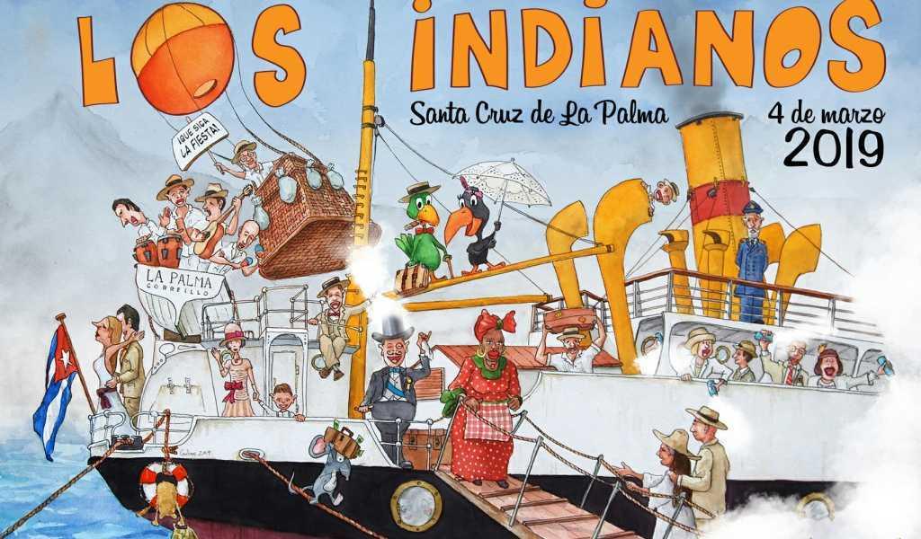 Cartel de Los Indianos 2019