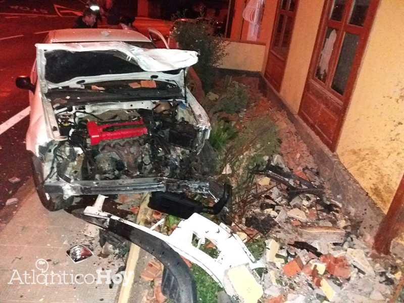 sucesos accidente de tráfico en la TF 152 en Tacaoronte