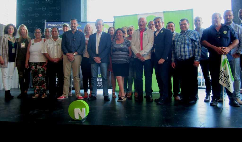 Candidatos de Nueva Canarias