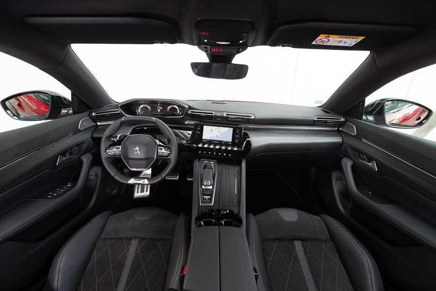 interior del nuevo peugeot 508