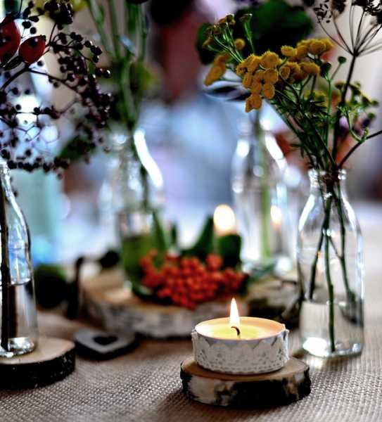 Ambiente acogedor con velas. IMAGEN: Cedida