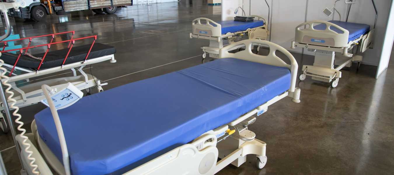 camas recinto ferial hospital campaña coronavirus