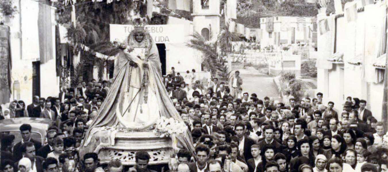 Virgen de aLa Candelaria 1965