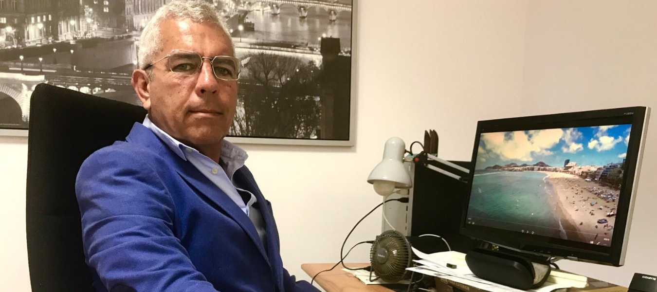 Sebastián Quintana, promotor de Canarias, 1500 Km de Costa