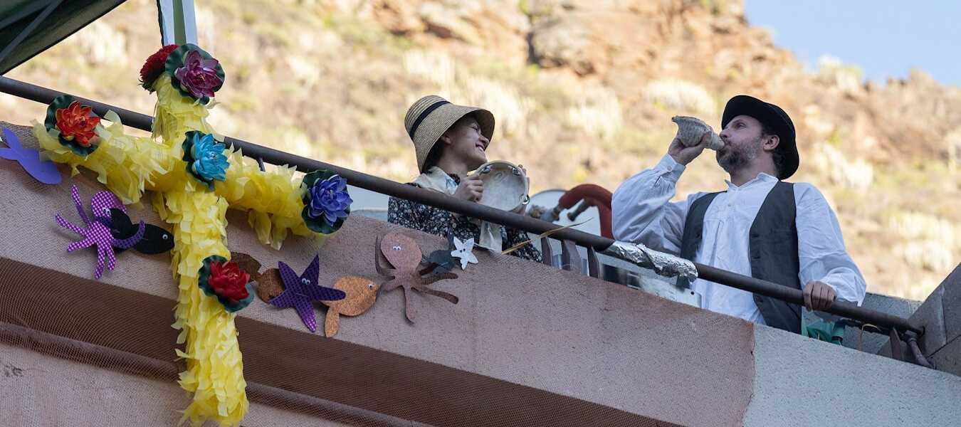 Fiestas de mayo balcones