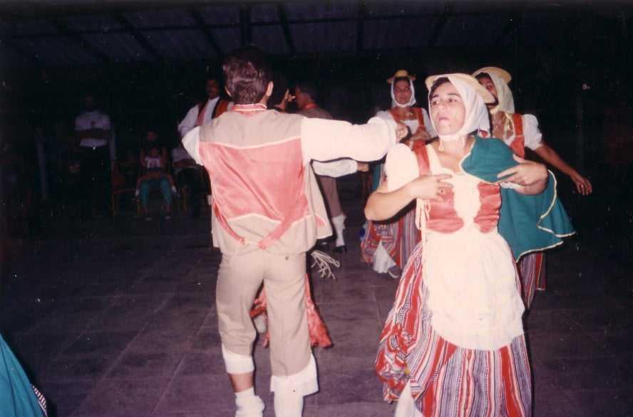 danza isleña de pozas, folklore