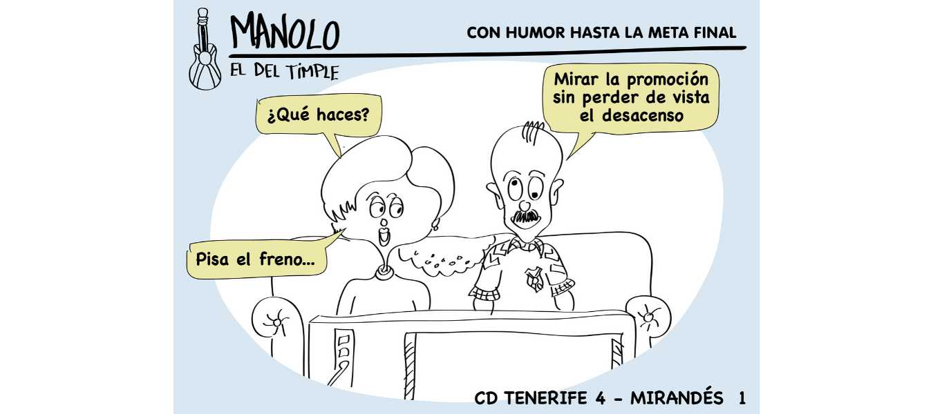 CD Tenerife 4-1 CD Mirandés