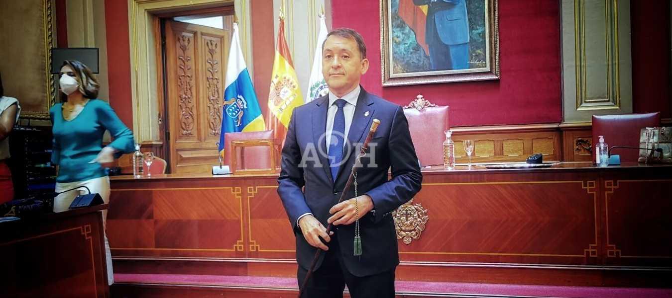 José Manuel Bermúdez recién nombrado alclade   JAC FOTOGRAFÍA